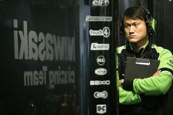 Наойа Канеко, технический менеджер Kawasaki