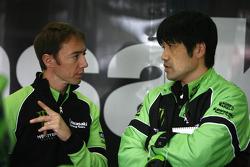 Olivier Jacque conversa con el líder de proyecto de MotoGP de Kawasaki