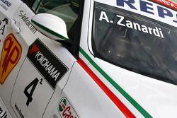 Alex Zanardi, BMW Team Italy-Spain, BMW 320si fête ses 42 ans!