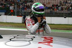 Timo Scheider, Audi Sport Team Abt, on the grid
