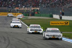 Bruno Spengler, Team HWA AMG Mercedes, AMG Mercedes C-Klasse, leads Bernd Schneider, Team HWA AMG Me