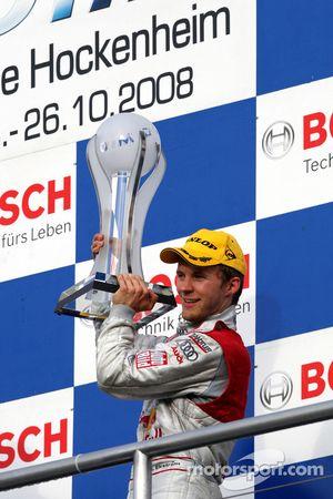 Championship podium: third place Mattias Ekström