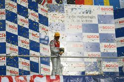 Championship podium: DTM champion 2008 Timo Scheider