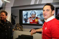 Championship celebration party in the Audi Sport Team pitbox: Hans-Jürgen Abt
