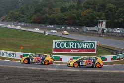 Tiago Monteiro, SEAT Sport, SEAT Leon TDI e Rickard Rydell, SEAT Sport, SEAT Leon TDI