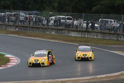 Tiago Monteiro, SEAT Sport, SEAT Leon TDI et Rickard Rydell, SEAT Sport, SEAT Leon TDI