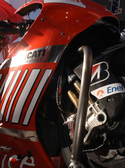 Деталь мотоцикла Кейси Стоунера Ducati