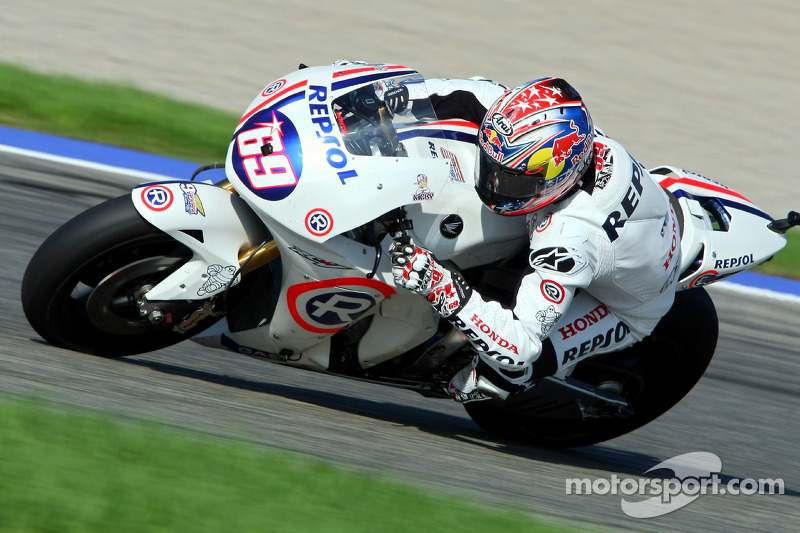2008: Hayden's final race as a full-time Repsol Honda rider