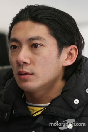 Ho Pin Tung, pilote A1 Team China