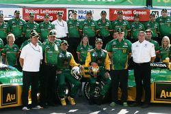 Team Australia/KV Racing Technology photo shoot