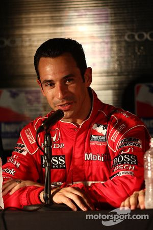 Post-qualifying press conference: Helio Castroneves