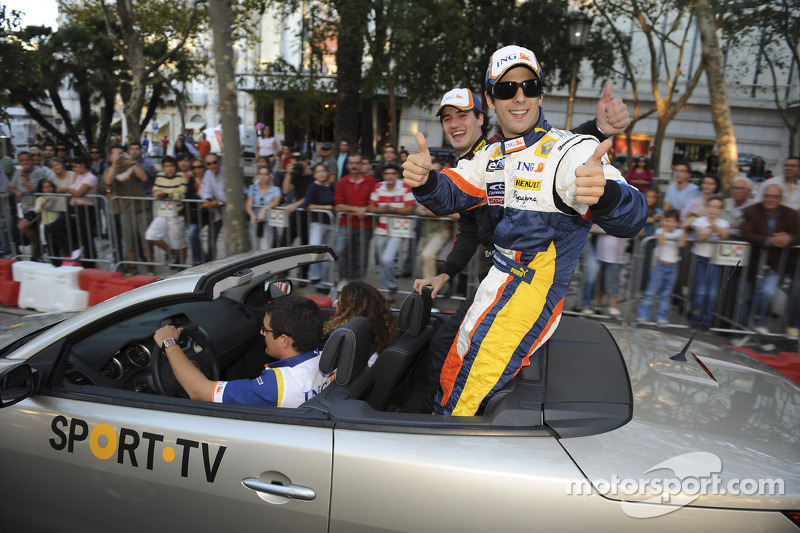 Lucas Di Grassi is presented to the fans