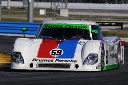 #59 Brumos Racing Porsche Riley: Joao Barbosa, JC France, Hurley Haywood