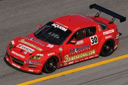 #30 Racers Edge Motorsports Mazda RX-8: Dane Cameron, Doug Peterson, Jordan Taylor, Dion von Moltke