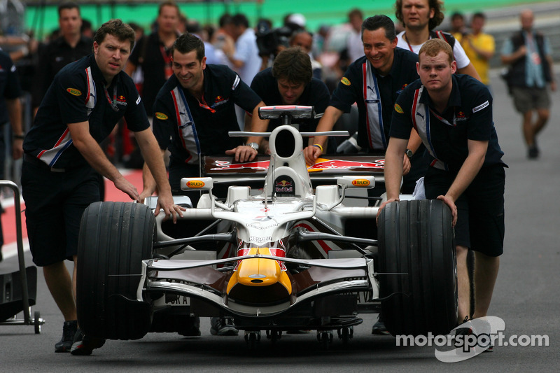 Wings For Life renk düzeni Red Bull Racing David Coulthard fotoğraf çekimi