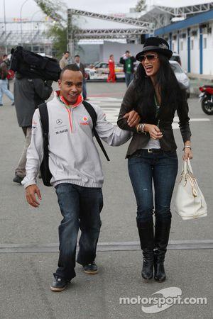 Nicholas Hamilton, Brother of Lewis Hamilton, McLaren Mercedes, Nicole Scherzinger, Singer in the Pu
