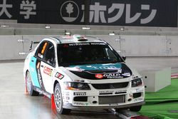 Armindo Araujo et Miguel Ramalho, Mitsubishi Lancer Evo IX