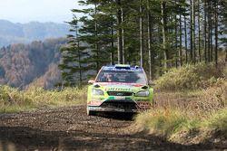 Mikko Hirvonen et Jarmo Lehtinen, Ford World Rally Team Ford Focus RS WRC