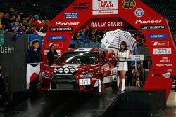 Katsuhiko Taguchi and Mark Stacey, Mitsubishi Lancer Evo X