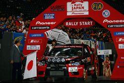 Fumio Nutahara et Hakaru Ichino, Mitsubishi Lancer Evo X