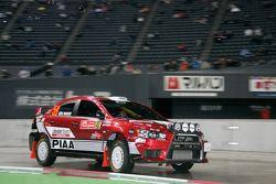 Katsuhiko Taguchi et Mark Stacey, Mitsubishi Lancer Evo X
