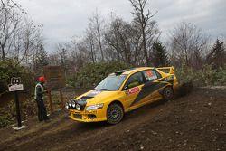 Evgeny Novikov et Dale Moscatt, Mitsubishi Lancer Evo IX