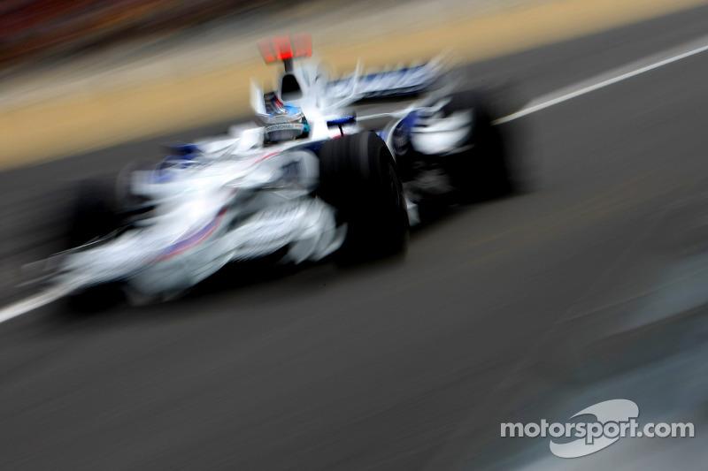 Nick Heidfeld, BMW Sauber F1 Team, F3.08
