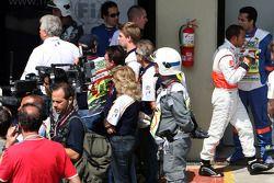 Fourth place Lewis Hamilton