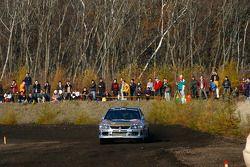 Juho Hanninen et Mikko Markkula, Mitsubishi Lancer Evo X