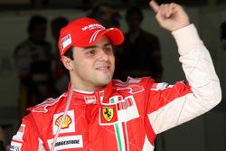 Ganador de la pole Felipe Massa