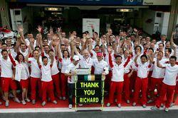 Gerente de operaciones de Toyota de Richard Cregan, última carrera en Toyota