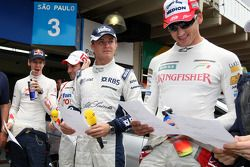 Sebastian Vettel, Scuderia Toro Rosso, Timo Glock, Toyota F1 Team, Nico Rosberg, WilliamsF1 Team, Ad