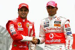 Felipe Massa, Scuderia Ferrari, Lewis Hamilton, McLaren Mercedes