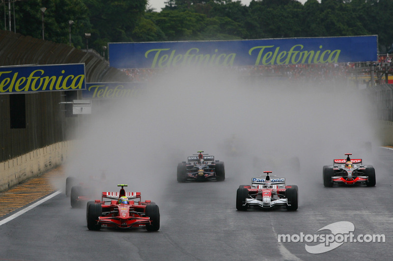 Inicio: Felipe Massa, Scuderia Ferrari líder 2008