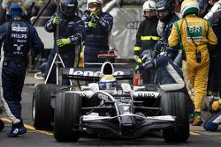 Pitstop, Nico Rosberg, WilliamsF1 Team, FW30