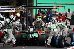 Pitstop, Jenson Button, Honda Racing F1 Team