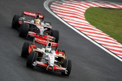 Джанкарло Фізікелла, Force India F1 Team, Льюіс Хемілтон, McLaren Mercedes