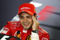 Post-race press conference: race winner Felipe Massa