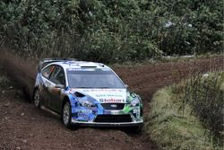 François Duval et Patrick Pivato, Ford World Rally Team Ford Focus RS WRC