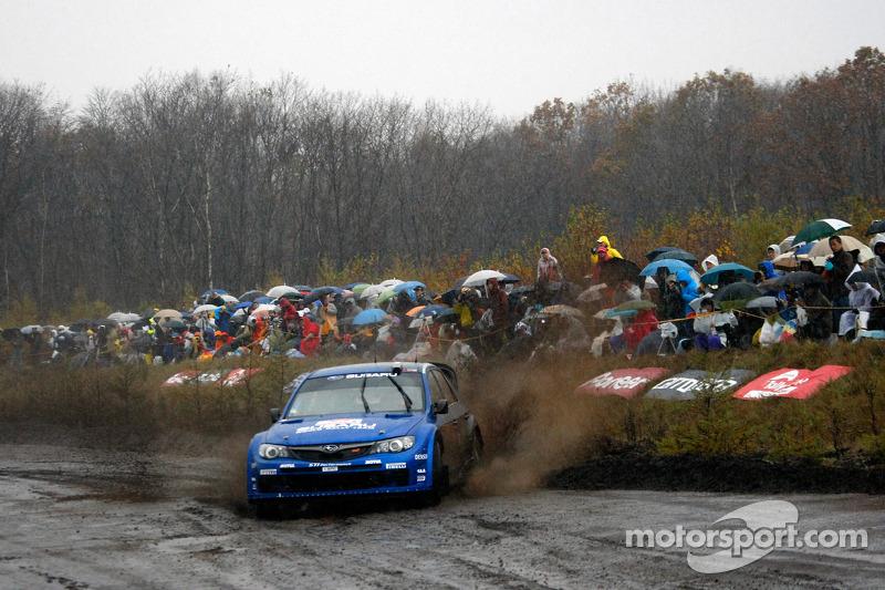 Petter Solberg and Phil Mills, Subaru World Rally Team ...