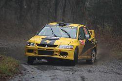 Evgeny Novikov and Dale Moscatt, Mitsubishi Lancer Evo IX