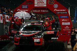 Podium: Fumio Nutahara et Hakaru Ichino