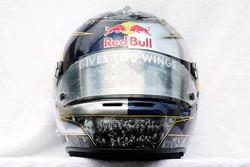 El casco de Sebastian Vettel