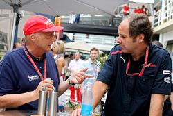 Niki Lauda e  Gerhard Berger