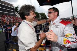 Pasquale Lattuneddu y David Coulthard