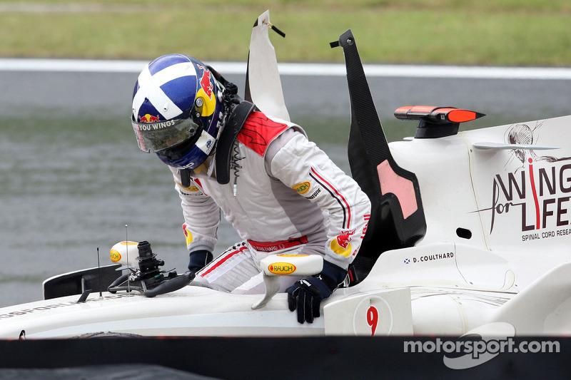 David Coulthard - 9 abandonos en la primera vuelta