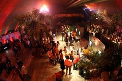 End of season party, Memorial da America Latina: guests and the location