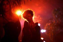 End of season party, Memorial da America Latina: a girl