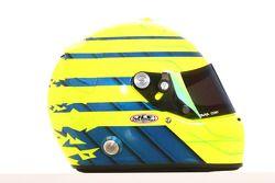 Danny Watts, driver of A1 Team Great Britain helmet