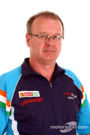 Gordon Flynn A1 Team India Team Manager